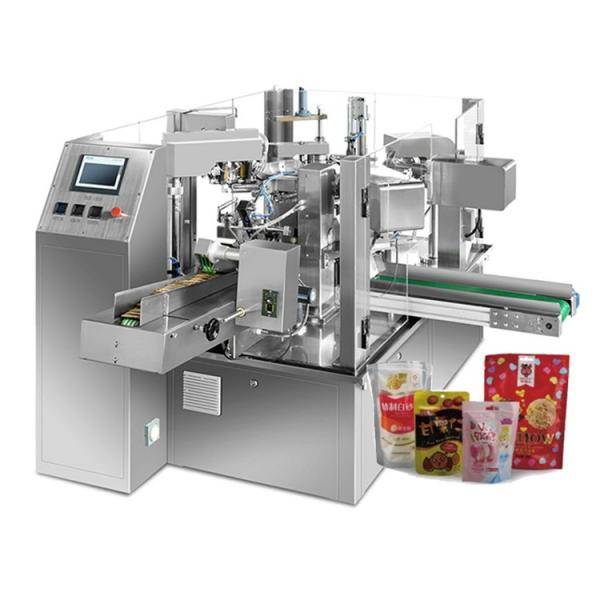 Chain Bucket Weighing Fried Potato Chips Dry Fruits 50g 100g Plastic Bag Packaging Machine #1 image