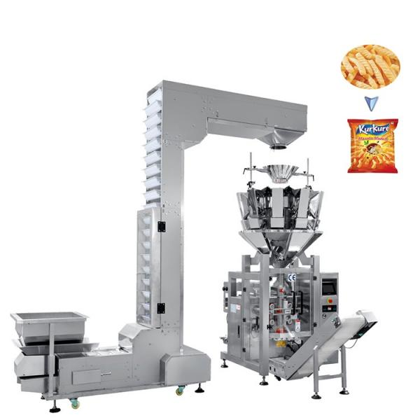 Automatic Snack Potato Chips Food Weighing Bag Forming Filling Sealing Packaging Machine #1 image