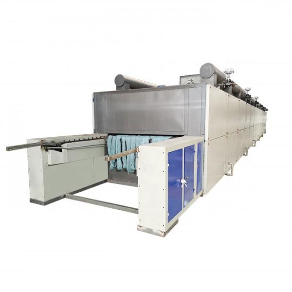 Tunnel Conveyor Belt Type Dryer Equipment Continuous Working Rubber Dehydration Dryer Machine #1 image