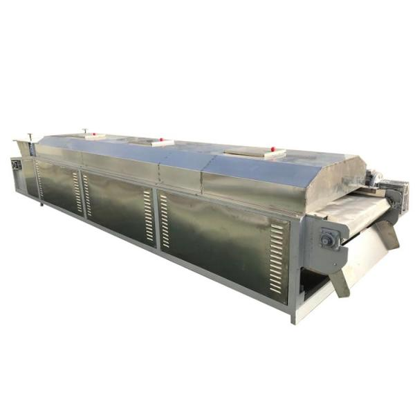Tunnel Conveyor Belt Type Dryer Equipment Continuous Working Rubber Dehydration Dryer Machine #2 image